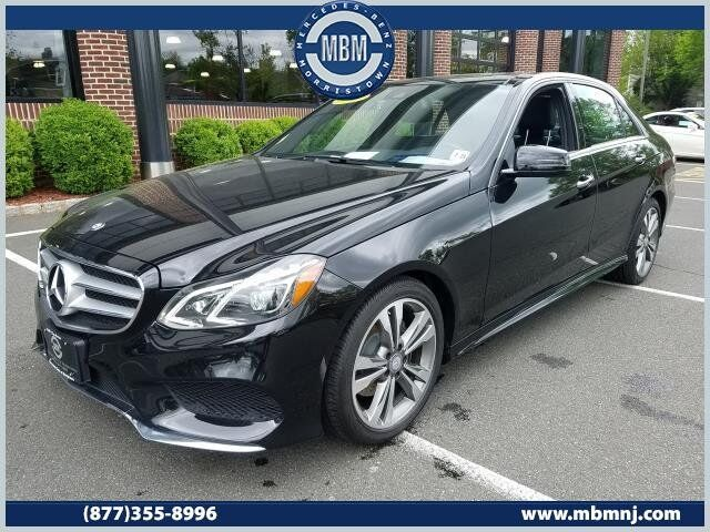 Vehicle Details 2016 Mercedes Benz E Cl At Of Morristown