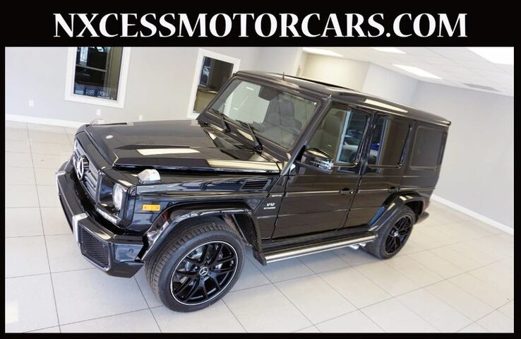 2016 Mercedes-Benz G-Class AMG G 65 DISCTRONIC VENTILATED SEATS 1-OWNER. Houston TX