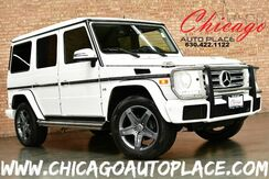 2016_Mercedes-Benz_G-Class_G 550 - 4.0L TWIN-TURBO V8 ENGINE 1 OWNER ALL WHEEL DRIVE NAVIGATION BACKUP CAMERA BLACK DESIGNO LEATHER HEATED/COOLED SEATS ACTIVE BLINDSPOT DETECTION_ Bensenville IL