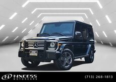2016_Mercedes-Benz_G-Class_G 550 4X4 One Owner Factory Warranty._ Houston TX