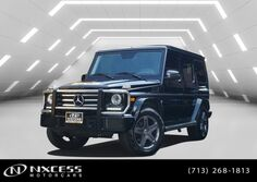 Mercedes-Benz G-Class G 550 4X4 One Owner Factory Warranty. 2016