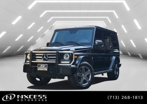 2016 Mercedes-Benz G-Class G 550 4X4 One Owner Factory Warranty. Houston TX