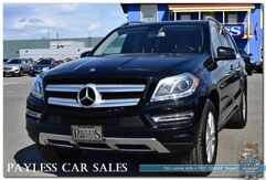 2016_Mercedes-Benz_GL 450_4Matic AWD / Bi-Turbo V6 / Heated Leather Seats / Navigation / Sunroof / Power 3rd Row / Seats 7 / Bluetooth / Back-Up Camera / 1-Owner_ Anchorage AK