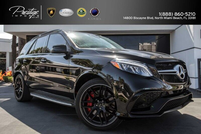 2016 Mercedes Benz Gle Amg Gle 63 S Model North Miami