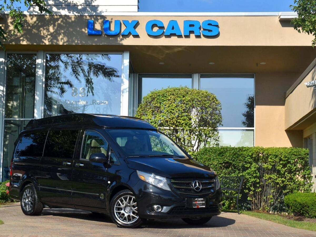 2016_Mercedes-Benz_Metris Passenger Van_High Top Explorer Conversion PKG Nav Rear TV_ Buffalo Grove IL