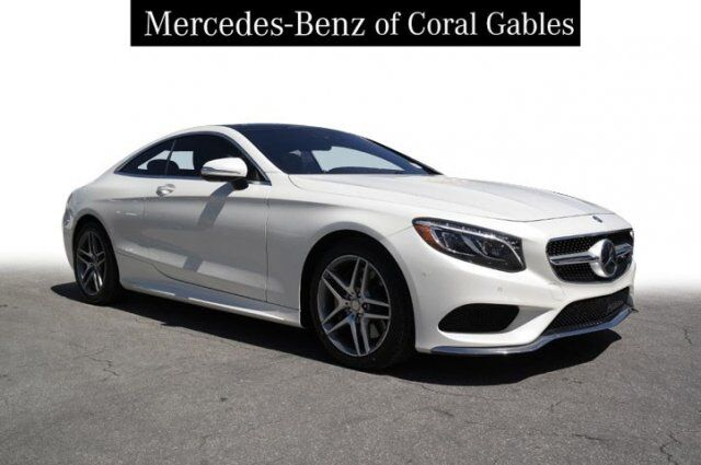 2016 Mercedes Benz S 550 4matic Coupe