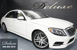 Mercedes-Benz S 550 4MATIC Sedan, Sport Package, Driver Assistance Package, Navigation System, Surround-View Camera, Burmester Surround Sound, Ventilated Seats, Panorama Sunroof, 19-Inch AMG Alloy Wheels, 2016