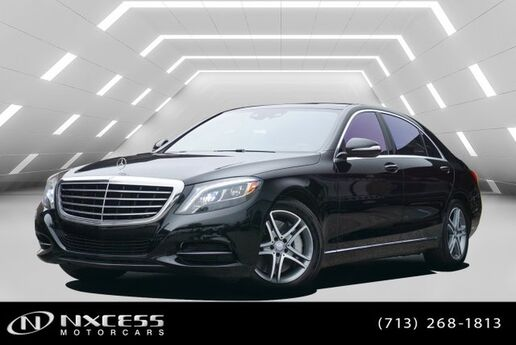 2016 Mercedes-Benz S-Class S 550 Panorama Low Miles Factory Warranty! Houston TX