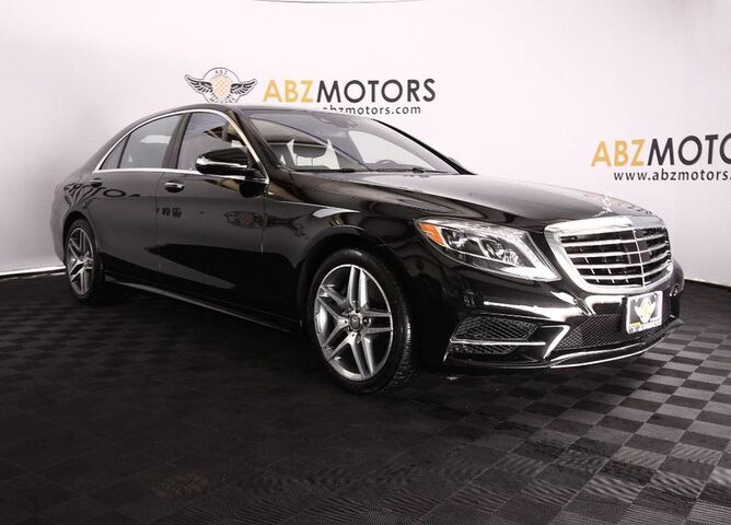 2016 Mercedes Benz S Class S 550 Sport AMG,Reclining Rear Seats, ...