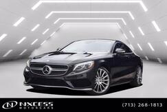 2016_Mercedes-Benz_S-Class_S 550 Sport Coupe 4Matic Designo Package Extra Clean!_ Houston TX