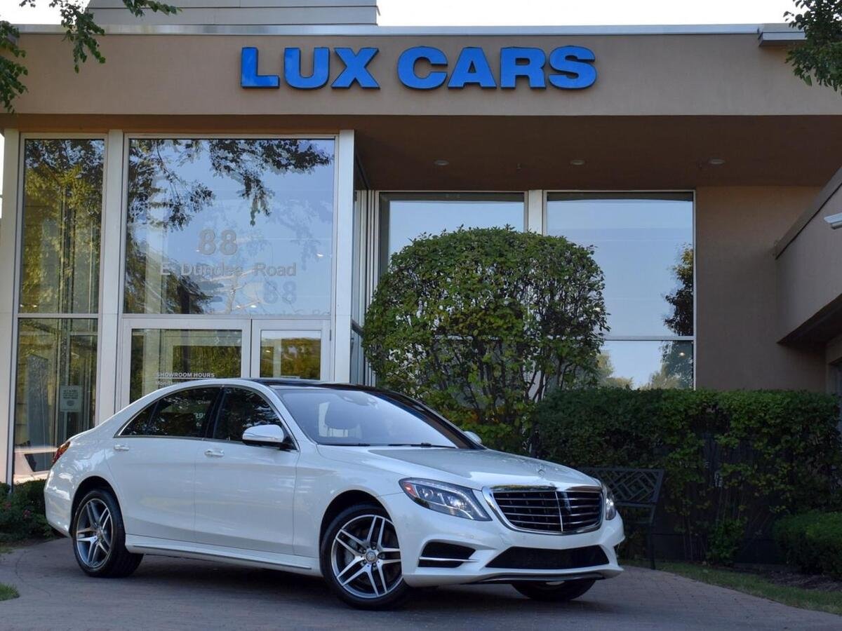 2016_Mercedes-Benz_S550_Sport AMG Panoroof Premium 1 PKG 4MATIC MSRP $120,350_ Buffalo Grove IL