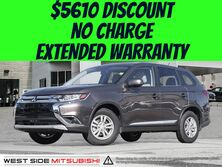 Mitsubishi Outlander ES-FWD-LEATHER SEATS-$5610 DISCOUNT-NO CHARGE EXTENDED WARRANTY 2016