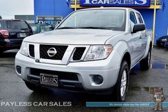 2016_Nissan_Frontier_SV / 4X4 / Crew Cab / 4.0L V6 / Automatic / Cruise Control / Bed Liner / Tow Pkg / 1-Owner_ Anchorage AK