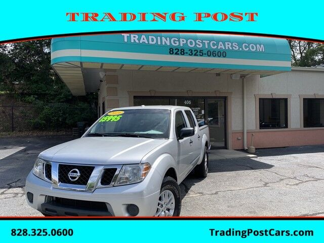 2016_Nissan_Frontier_SV_ Conover NC
