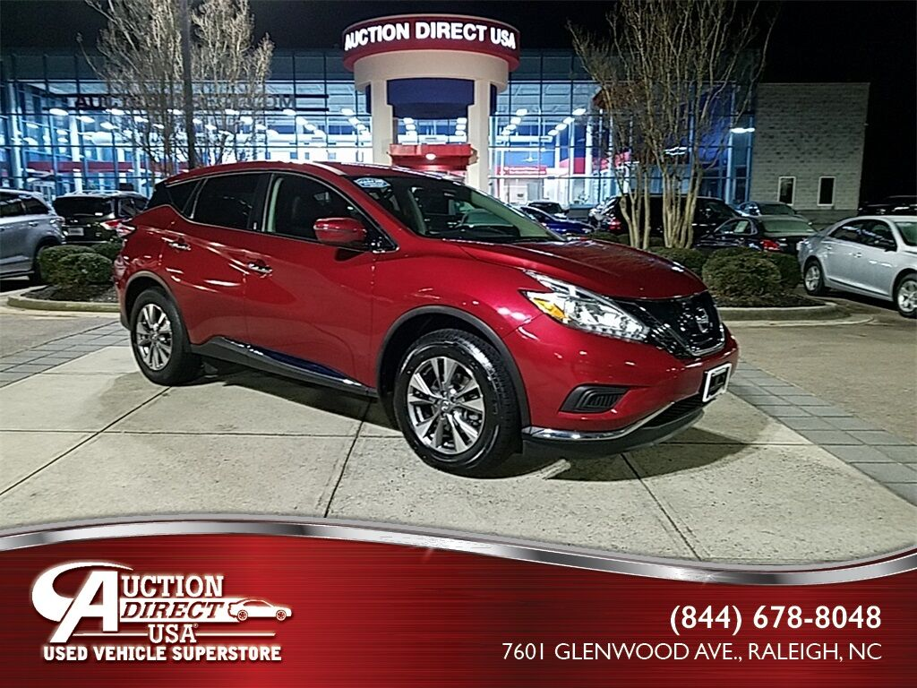 used 2016 nissan murano s raleigh nc 28042297. Black Bedroom Furniture Sets. Home Design Ideas