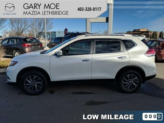 2016_Nissan_Rogue_SL  - Navigation - Air - Rear Air - $187.72 B/W_ Lethbridge AB