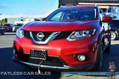 2016_Nissan_Rogue_SL / AWD / Automatic / Heated Leather Seats / Sunroof / Navigation / Bose Speakers / Bluetooth / Back-Up Camera / Luggage Rack / 1-Owner_ Anchorage AK