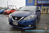 2016 Nissan Sentra SR / Automatic / Heated Seats / Auto Start / Bluetooth / Back Up Camera / Cruise Control / Keyless Entry & Start / USB & AUX Jacks / Painted Spoiler / 17in Machined Wheels / HID Headlights / Only 14k Miles / 38 MPG / 1-Owner