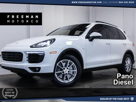 2016_Porsche_Cayenne_Diesel Pano Htd/Cooled Seats Bose_ Portland OR