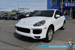 2016_Porsche_Cayenne_S E-Hybrid / AWD / Heated & Cooled Leather Seats / Keyless Entry & Start / Navigation / Panoramic Sunroof / Bose Speakers / Bluetooth / Back Up Camera / Cruise Control / 1-Owner_ Anchorage AK