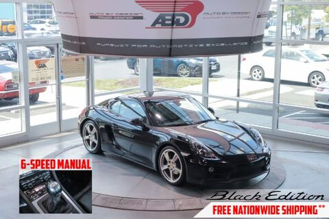 2016_Porsche_Cayman_Black Edition_ Chantilly VA