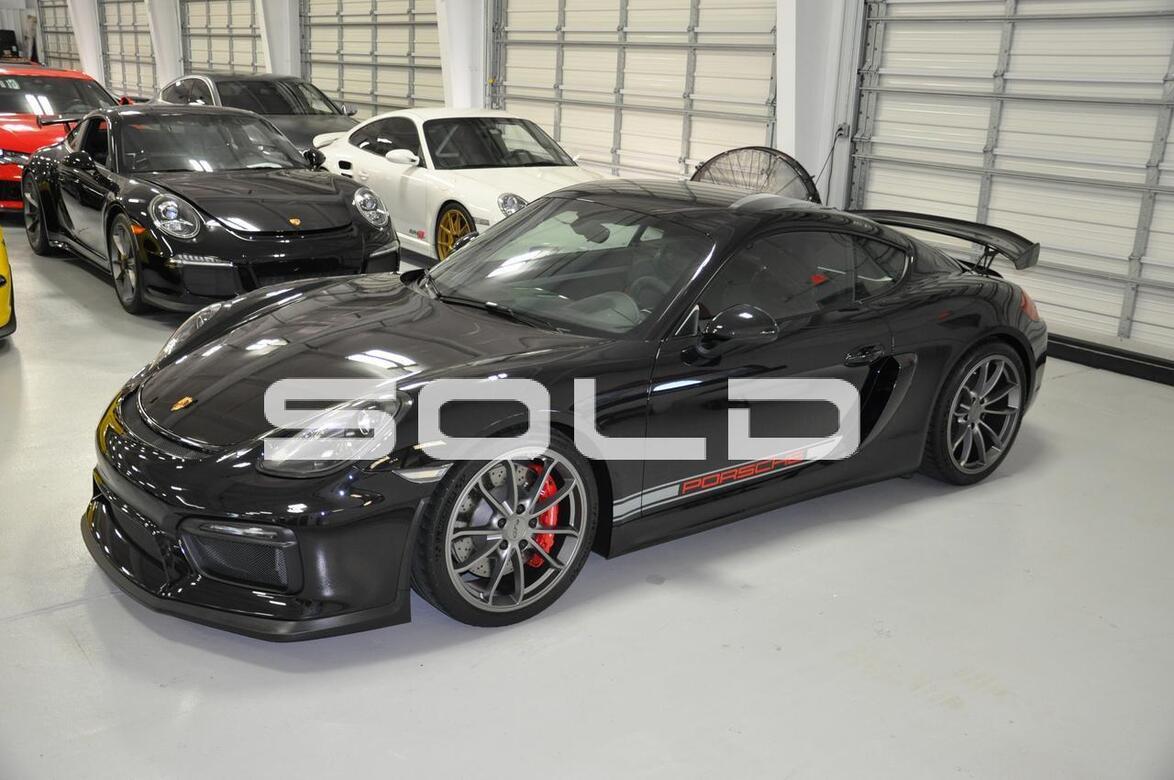 2016 Porsche Cayman GT4 Tomball TX