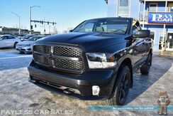 2016_Ram_1500_Express / 4X4 / 5.7L HEMI V8 / Regular Cab / Seats 3 / Bluetooth / Back Up Camera / Aluminum Wheels / Anti-Spin Rear Differential / Power Mirrors Windows & Locks / Bed Liner / Class IV Tow Pkg / Only 20K Miles_ Anchorage AK