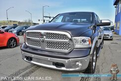 2016_Ram_1500_Laramie / 4X4 / 5.7L HEMI V8 / Crew Cab / Air Suspension / Heated & Cooled Leather Seats / Heated Steering Wheel / Navigation / Sunroof / Alpine Speakers / Back Up Camera / Ram Box Storage / Auto Start / Tow Pkg_ Anchorage AK