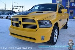 2016_Ram_1500_Stinger Yellow Sport / 4X4 / Crew Cab / 5.7L V8 HEMI / Power & H_ Anchorage AK