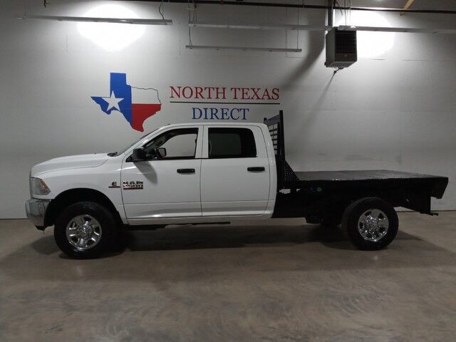 2016 Ram 2500 FREE DELIVERY Tradesman 4x4 Diesel Flatbed Touch Screen Bluetoot Mansfield TX