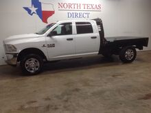 2016_Ram_2500_FREE DELIVERY Tradesman 4x4 Diesel Flatbed Touch Screen Bluetooth 5th Wheel_ Mansfield TX