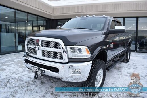 2016 Ram 2500 Laramie Power Wagon / 4X4 / 6.4L HEMI V8 / Crew Cab / Auto Start / Heated & Cooled Leather Seats / Heated Steering Wheel / Navigation / Alpine Speakers / Sunroof / Bed Liner / Tonneau Cover / Winch / K&N Air Intake / Tow Pkg Anchorage AK