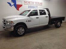 2016_Ram_2500_Tradesman 4x4 Diesel CM Flatbed Touch Screen Bluetooth_ Mansfield TX