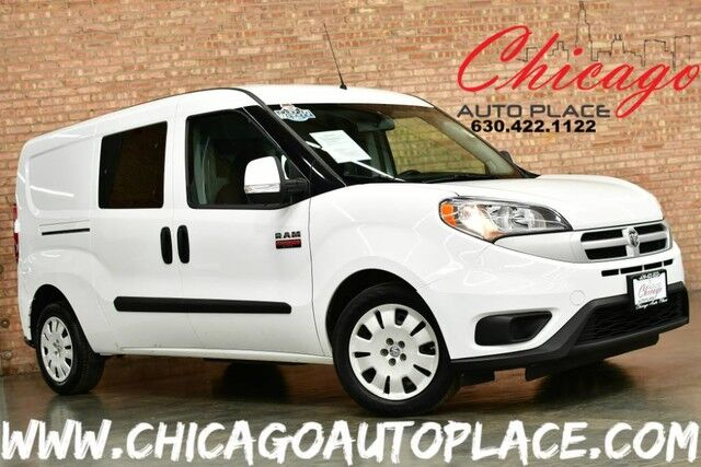 2016 Ram ProMaster City Cargo Van Tradesman SLT - 2.4L I4 MULTIAIR ENGINE 1 OWNER FRONT WHEEL DRIVE 2 TONE BLACK/GRAY CLOTH BACKUP CAMERA REAR STORAGE RACKS/DRAWERS Bensenville IL