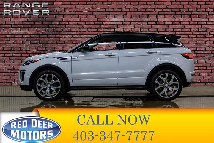 2016 Range Rover Evoque AWD Autobiography Leather Roof Nav Red Deer AB