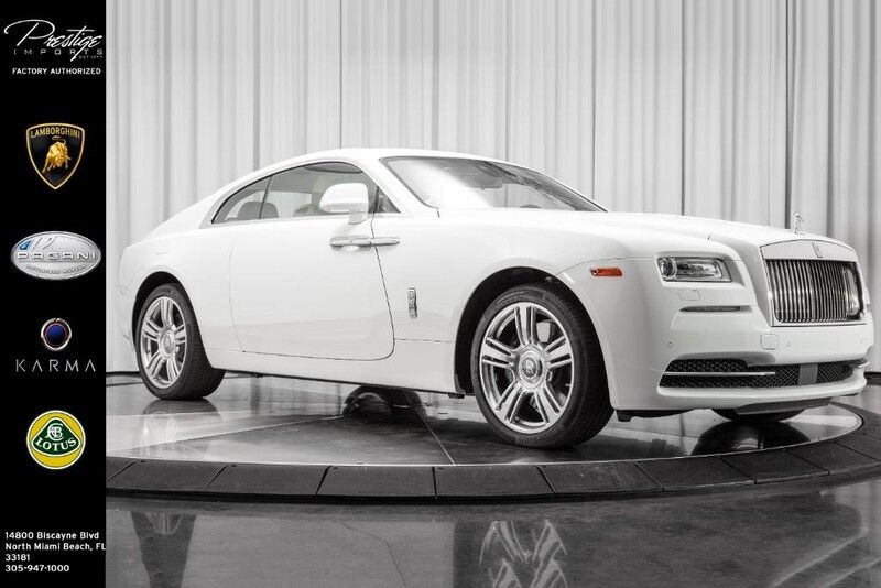 2016 Rolls Royce Wraith North Miami Beach Fl