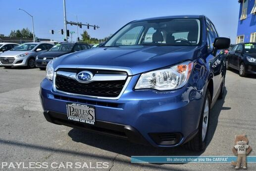 2016 Subaru Forester 2.5i / AWD / Automatic / Bluetooth / Back Up Camera / Cruise Control / 32 MPG Anchorage AK