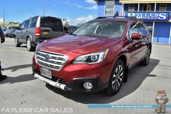 2016_Subaru_Outback_2.5i Limited / AWD / Eye Sight Pkg / Auto Start / Front & Rear Heated Leather Seats / Navigation / Sunroof / Harman Kardon Speakers / Adaptive Cruise / Blind Spot & Lane Departure Alert / 1-Owner_ Anchorage AK