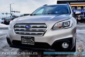 2016 Subaru Outback 2.5i Premium / AWD / Automatic / Eye Sight Pkg / Heated Seats / Bluetooth / Back Up Camera / Low Miles / 33MPG / 1-Owner