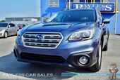 2016 Subaru Outback 2.5i Premium / Power & Heated Seats / Bluetooth / Back Up Camera / Cruise Control / 33 MPG / 1-Owner