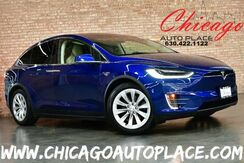 2016_Tesla_Model X_90D - AWD DUAL MOTOR HIGH EFFICIENCY TAN LEATHER SUBZERO PACKAGE 3RD ROW GLOSSY OBECHE WOOD DECOR 20'' WHEELS BACKUP CAMERA_ Bensenville IL