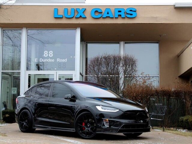2016_Tesla_Model X_P90D LUDICROUS PANOROOF 3RD ROW BODY KIT AWD MSRP $149,200_ Buffalo Grove IL