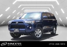 2016_Toyota_4Runner 1 OWNER POLISHED WHEELS_SR5_ Houston TX