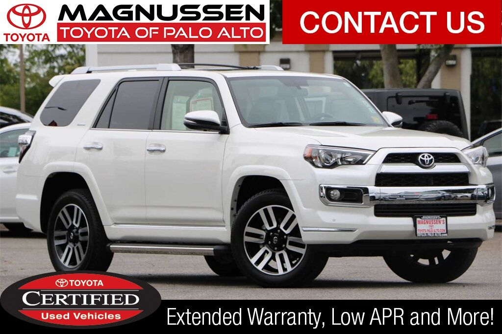 2016 Toyota 4runner Limited Palo Alto Ca