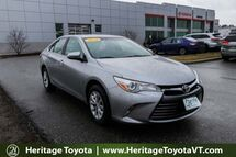 2016 Toyota Camry LE South Burlington VT