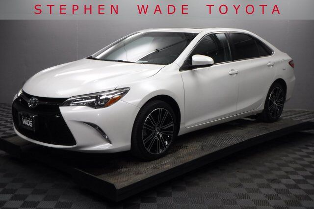 2016 Toyota Camry Se With Special Edition Pkg St George Ut