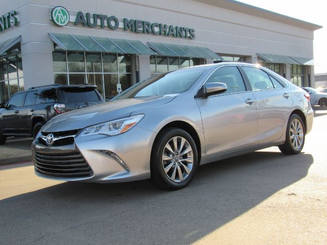 2016 Toyota Camry Xle V6 2 5l 4cyl Automatic Leather Navigation Sunroof