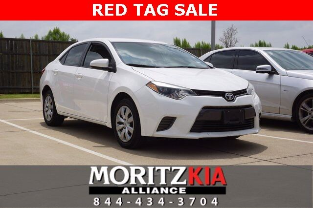 2016 Toyota Corolla LE Fort Worth TX