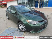 2016_Toyota_Corolla_LE   ONE OWNER   CAM   BLUETOOTH_ London ON