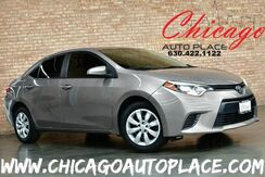 2016_Toyota_Corolla_LE Plus - 1.8L I4 DUAL VVT-I ENGINE FRONT WHEEL DRIVE SADDLE BROWN CLOTH INTERIOR BACKUP CAMERA BLUETOOTH PREMIUM INTERIOR LED HEADLIGHTS_ Bensenville IL